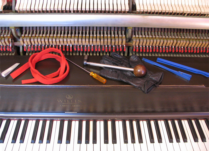 Piano tuning tools